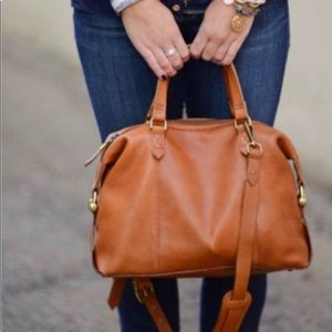 Madewell Kensington Leather Handbag Duffel purse